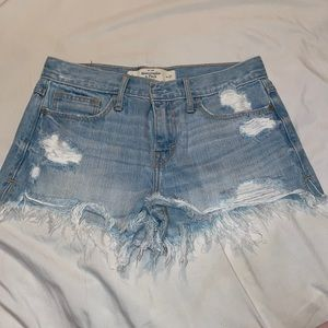 Distressed Shorts from Abercrombie & Fitch